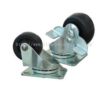 Castor Wheel and Power Socket
