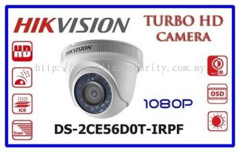 DS-2CE56D0T-IRPF HD1080p 4 in 1 Entry Level Series