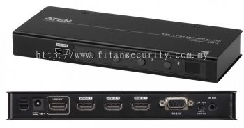Aten VS481C 4-Port True 4K HDMI Switch