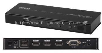 Aten VS481C 4-Port True 4K HDMI Switch