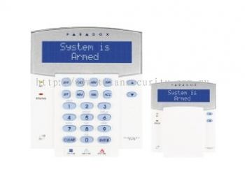 EVO K641LX Wired LCD Keypad with Integrated RF Transceiver