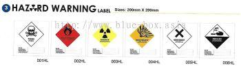 Hazard Warning Label