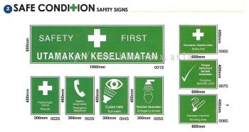 Safety Condition Safety Signs