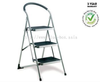 BBSR Pro X 1065mm 3 Rung Steel Steps