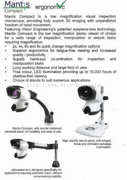 Mantis Compact ergonomic