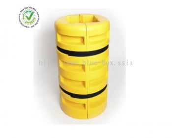 Addgards Black, Yellow Corner Protector  176-3053