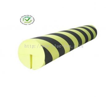 Black, Yellow Corner Protector, 1m by 150mm  840-0603
