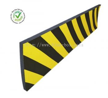 Black, Yellow Wall Protector, 5m by 840-0619