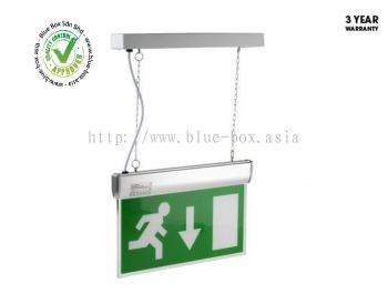 LED emergency exit sign arrow down  795-9757