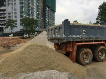 SAND AT SITE