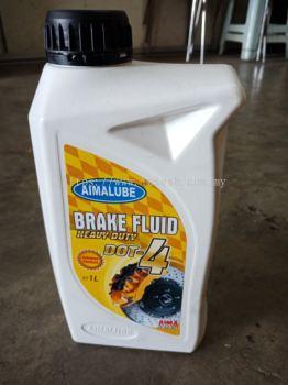 AIMALUBE BRAKE FLUID DOT-4 1LITRE