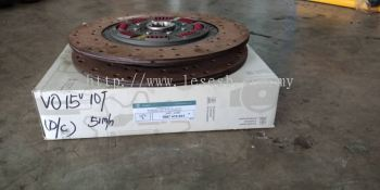 1887 415 031 VOLVO FM12 DOUBLE CLUTCH DISC