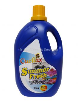 Cucilax Concentrated Liquid Laundry Detergent (Summer Fresh)