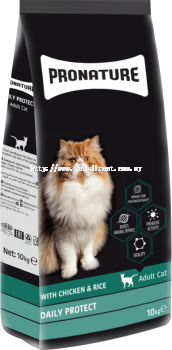 Pronature Daily Protect For Adult Cat 10KG