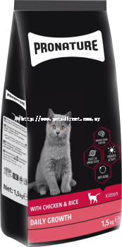 Pronature Daily Growth For Kitten 10KG