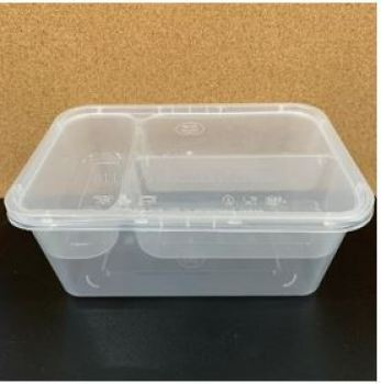 1000 ml + 3 Compartment Tray