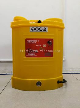 ECOTEC EB-20L KNAPSACK BATTERY SPRAYER 20 LITTER ( PUMP RACUN )