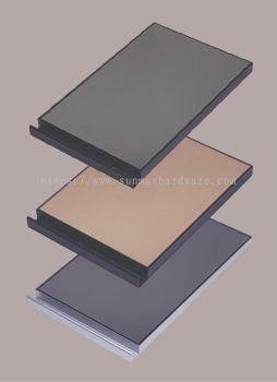 4G Aluminium Frame Door 9893