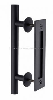 Barn Door Pull and Recessed Handle