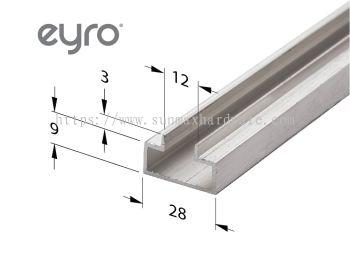 Slatwall Aluminium Profile AA301