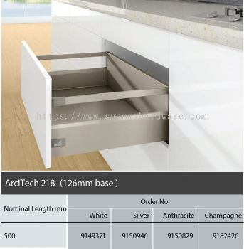 Hettich ArciTech 218 126 Base