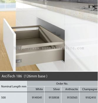 Hettich ArciTech 186 126 Base