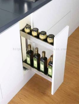 Luxury 150mm 2 Tier Multi function Pull Out Basket 1