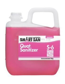 SMART SAN QUAT SANITIZER S-6