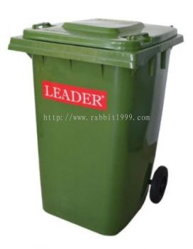 LEADER MOBILE GARBAGE BIN - 360 Litres