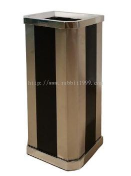 STAINLESS STEEL + PRINT COATING DIAMOND SHAPE BIN - LD-DAB-088/OT/A