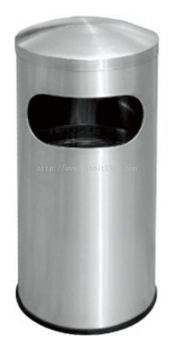 STAINLESS STEEL DOME TOP BIN - RAB-051/D , RAB-117/D