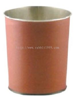 STAINLESS STEEL ROOM BIN c/w PVC cover