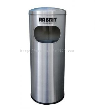 RABBIT STAINLESS STEEL DOME TOP LITTER BIN - RAB-001/D , RAB-002/D , RAB-043/D