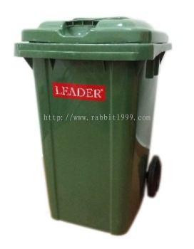 LEADER MOBILE GARBAGE BIN - 80 Litres