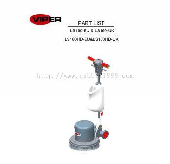 VIPER LS160 PARTS