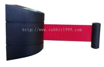 WALL-MOUNTED SELF RETRACTABLE BELT HEAD c/w wall mounted bracket