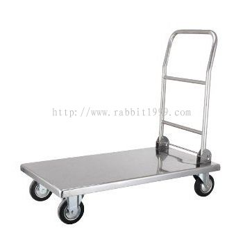 STAINLESS STEEL PLATFORM TROLLEY - PFT-1002/SS