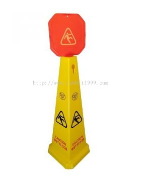 CAUTION WET FLOOR STAND