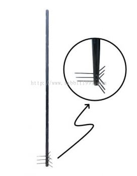 MILD STEEL POWDER COATING POLE - pole underground (POLE(9) , POLE(9FT))