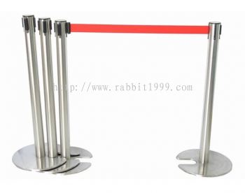 STAINLESS STEEL STACKABLE & RETRACTABLE Q-UP STAND