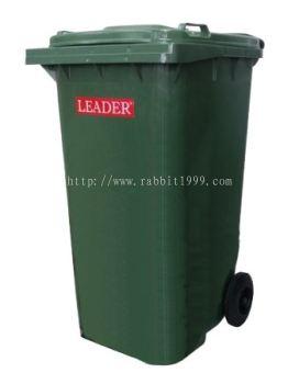 LEADER MOBILE GARBAGE BIN - 240 Litres