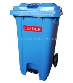 LEADER STEP ON GARBAGE BIN - 100 Litres