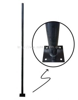 MILD STEEL POWDER COATING POLE - pole mounted (POLE(8) , POLE(8FT))