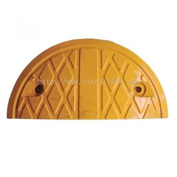 RUBBER HUMP - yellow - end piece