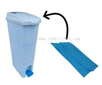 SANITARY BIN BAG - blue