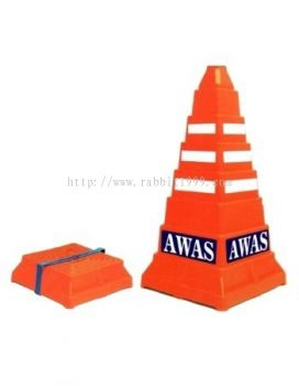 COLLAPSIBLE TRAFFIC SAFETY CONE