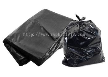 PLASTIC BAG - 74cm x 89cm - black