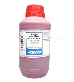 TAYLOR PH SOLUTION - phenol red