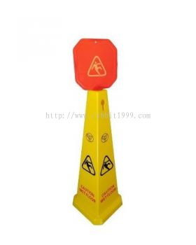 CAUTION WET FLOOR STAND - small