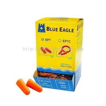 BLUE EAGLE ORANGE FOAM EARPLUGS - EP7